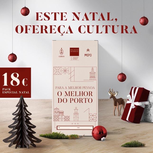 """Entidades do Porto convidam a """"oferecer Cultura"""" este Natal"""