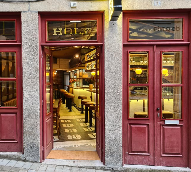 Holy Sandwich Shop
