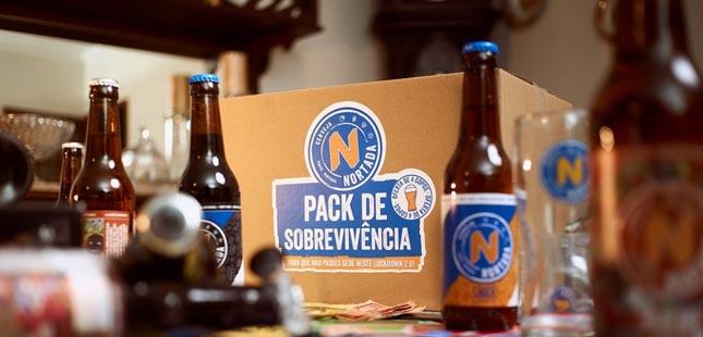 Nortada lança Pack de Sobrevivência para enfrentar o confinamento