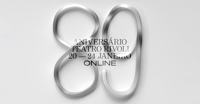 Rivoli celebra 89º aniversário online
