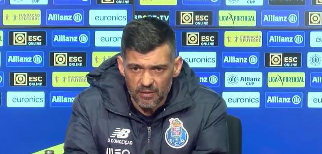 Sérgio Conceição vai