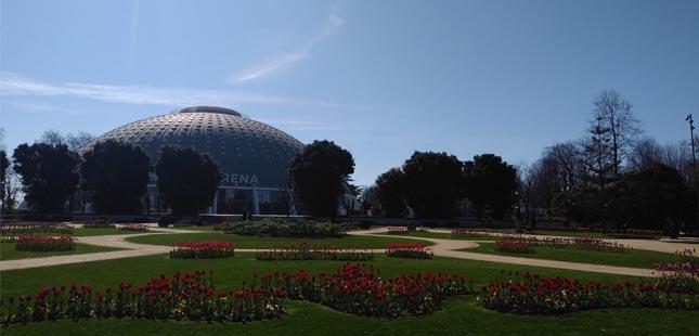 Warm Up Regressa aos jardins do Palácio de Cristal