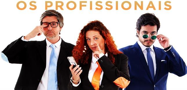 """Espetáculo """"Os Profissionais"""" no Porto em maio"""