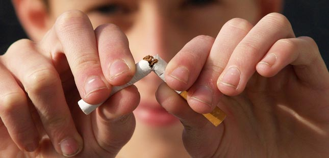 Deixe de fumar: a sua saúde agradece