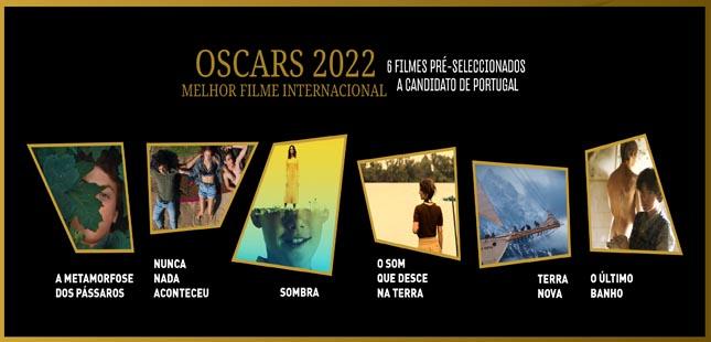 Portugal tem seis filmes selecionados para os Óscares 2022