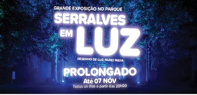 """""""Serralves em Luz"""" prolongado até novembro"""